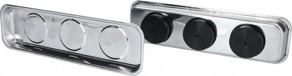 Brilliant Tools Edelstahl-Magnet-Teller-Satz