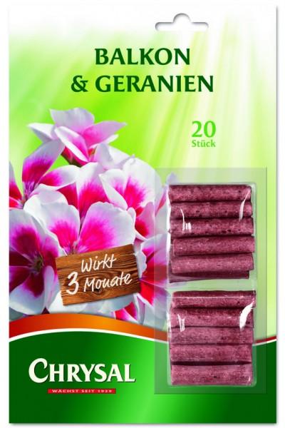 "Chrysal Düngestäbchen ""Balkon & Geranien"""
