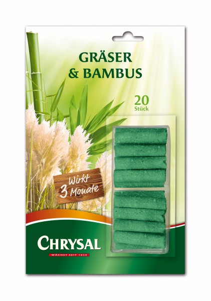 "Chrysal Düngestäbchen ""Gräser & Bambus"""