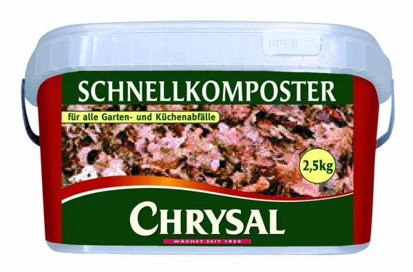 CHRYSAL Schnellkomposter 2,5 kg