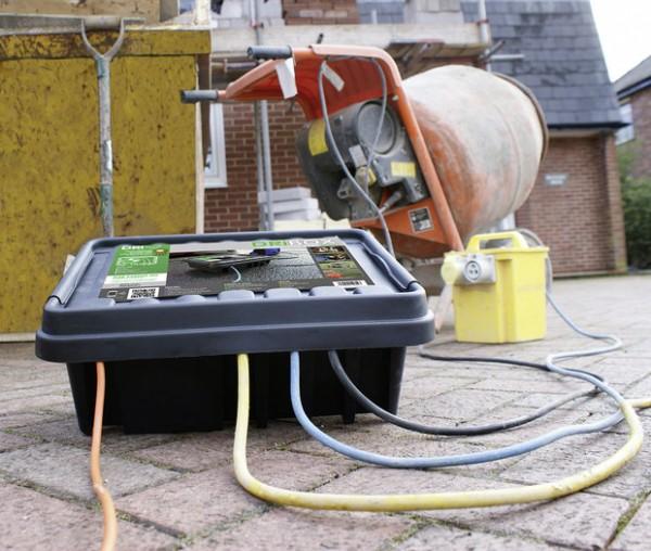 """""""DriBox"""" - Schutzgehäuse für Elektrische Verbindung"""
