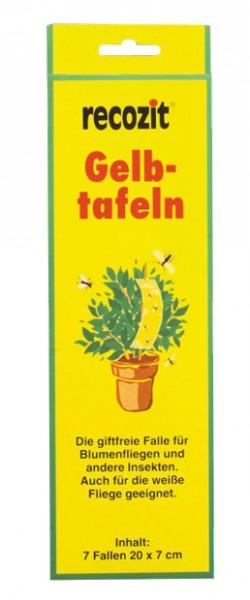 recozit Gelbtafeln, Leimfallen für Insekten und Schädlinge