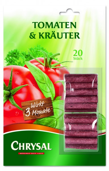 """Chrysal Düngestäbchen """"Tomaten & Kräuter"""""""