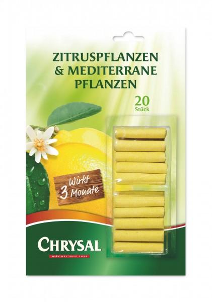 """Chrysal Düngestäbchen """"Zitrus- & mediterrane Pflanzen"""""""