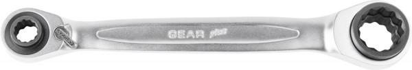 KS-Tools GEAR+ 4in1 Doppelringschlüssel