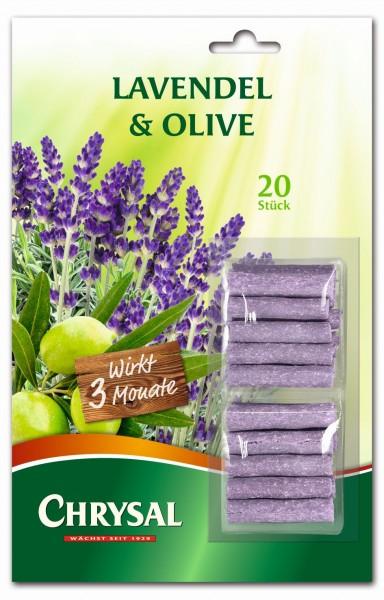 """Chrysal Düngestäbchen """"Lavendel & Olive"""""""