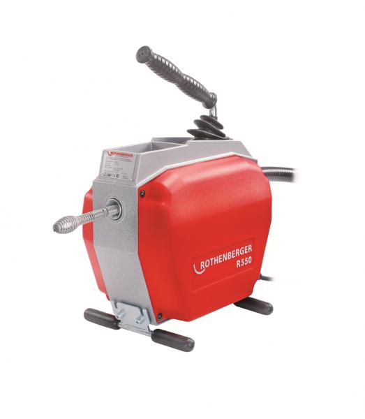 Rohr- und Kanalreinigungsmaschine bis 10 cm Ø