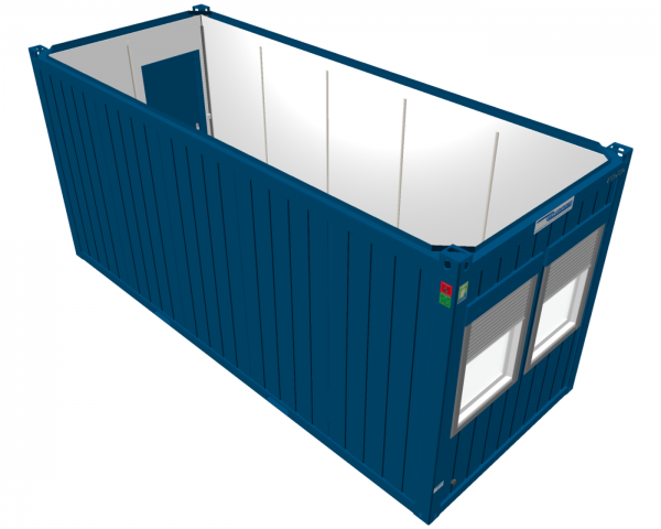 Raumcontainer 20'