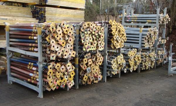 Stahlrohrstützen / Deckenstützen