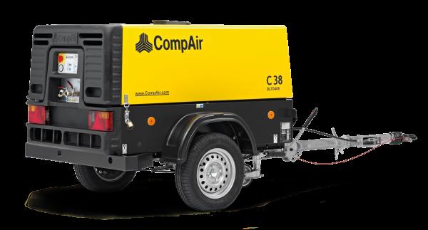 Fahrbarer Kompressor 3,8 m³